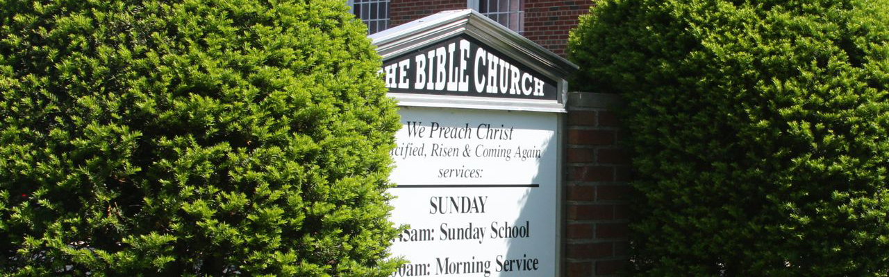 What's Going on at The Bible Church of Port Washington, NY